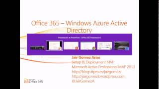 Office 365 - Windows Azure Active Directory