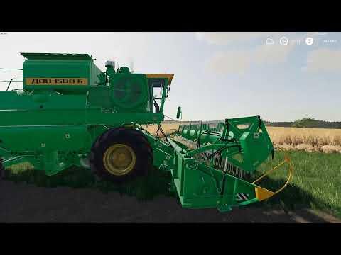 Farming Simulator Не большой обзор ДОН 1500Б!
