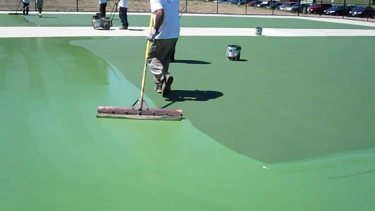 Acrylic Tennis Court Paint