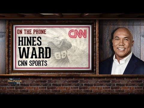 Former Steelers WR Hines Ward on The Dan Patrick Show | Full Interview | 12/14/17