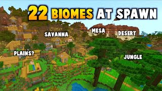 This Minecraft 1.18 Seed Has 22 Biomes At Spawn
