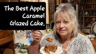 The Best Apple Caramel Cake!