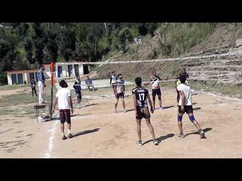 Local Tournament Volleyball Match Video HD