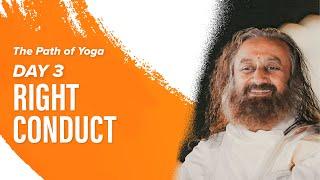 Download Patanjali Yoga Sutras and Meditation With Gurudev Sri Sri Ravi Shankar   Day 3   The Path Of Yoga