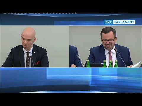 Komisja śledcza ds. VAT - przesłuchanie Karola Jenego