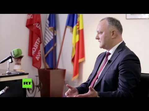 Moldawiens neuer Präsident Igor Dodon im Interview bei RT auf deutsch