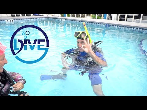 James Hendry Learns To Dive: Day 01