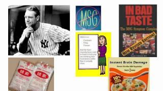 MSG: The Taste That Kills?
