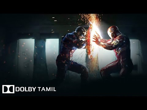 Captain America Civil War -Final Fight - Tamil Dubbed  | DOLBY TAMIL