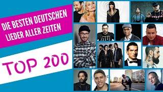 DIE BESTEN DEUTSCHEN LIEDER ALLER ZEITEN ♫ TOP 200