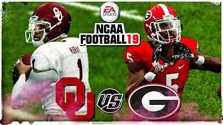 NCAA Football 19 🏈(NCAA FOOTBALL 14 2018-2019 ROSTERS!!!) Subscriber Request | OU vs Georgia!!!