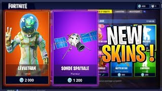 NEW SKINS LEVIATHAN and probe space (shop 15/04) FORTNITE Battle Royale!
