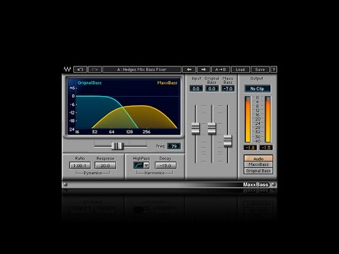 How to Make Low Frequencies Sound Deeper with the Waves MaxxBass Plugin