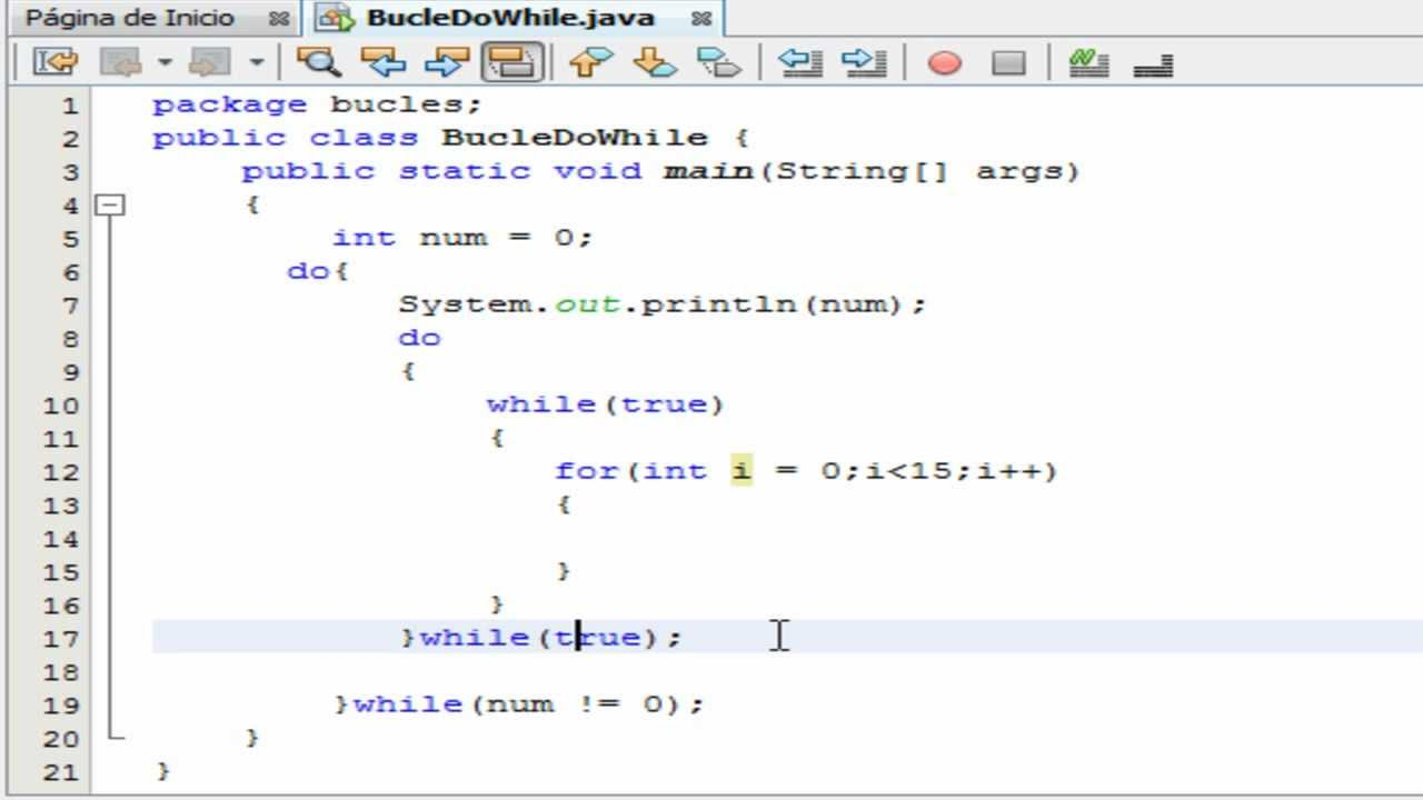 Tutorial de programacion java 24 bucle do while y for Como programar en java