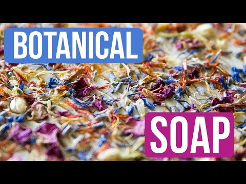 Making Natural Botanical Soap?!?   Royalty Soaps