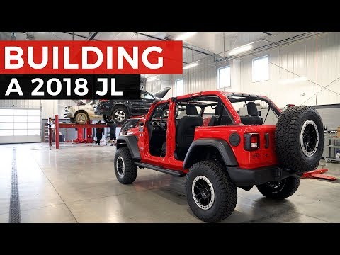 2018 Jeep Wrangler JL Full Mopar Build!
