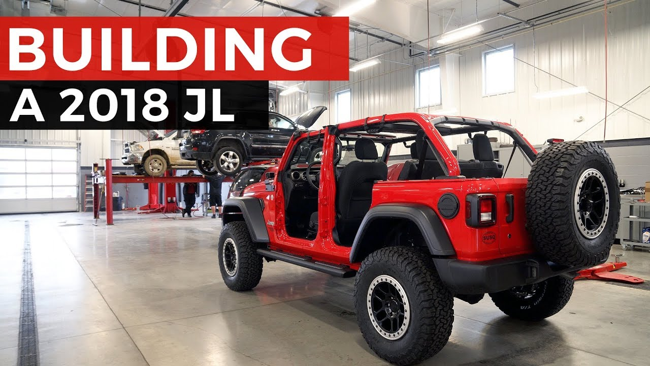 2018 Jeep Wrangler JL Full Mopar Build!