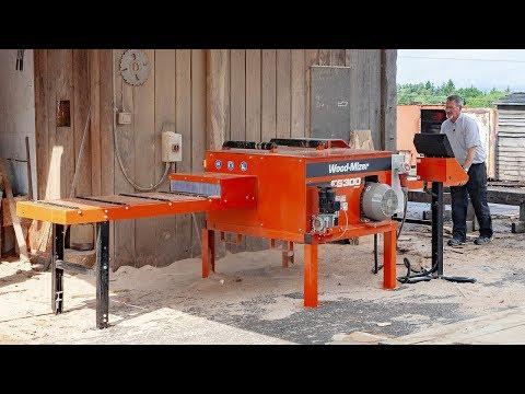 sulavalinjainen puolet uusi tuote EG300 Multirip Board Edger   Wood-Mizer USA