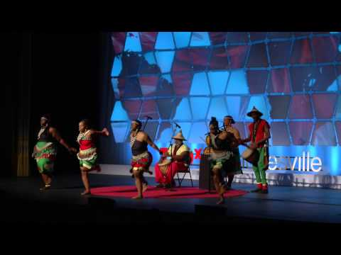 African music and dance  Chihamba  TEDxCharlottesville