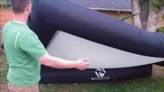 Nozzco Inflatable Movie Screen Review