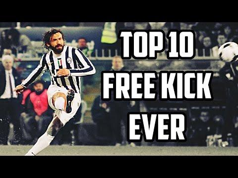 Andrea Pirlo - Top 10 Tiros Libres Siempre | HD 1080P