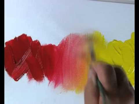 Pébéo - Comment Passer D'Une Couleur À L'Autre Avec La Peinture À L
