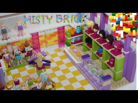 Lego Friends Shopping Mall Galleria by Misty Brick.