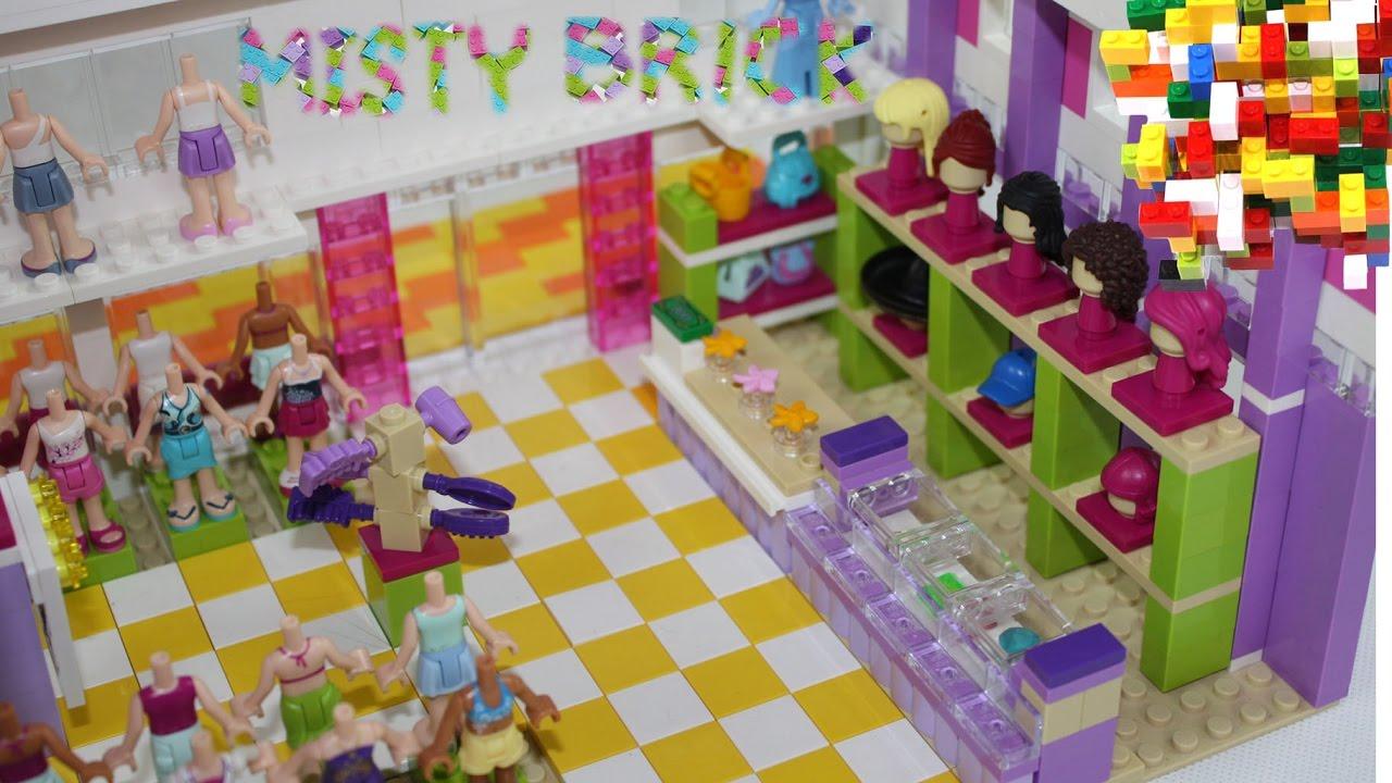 Lego friends heartlake shopping mall instructions