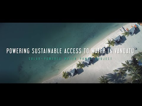 Powering Sustainable Access to Water in Vanuatu