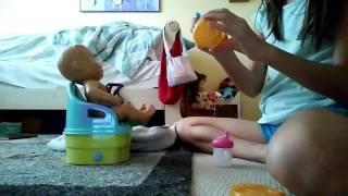 Potty training Olivia gone wrong