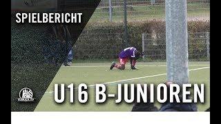 SC Vorwärts-Wacker 04 Billstedt U16 - Kummerfelder SV U16 (8. Spieltag, B-Oberliga)