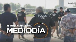 Redada de ICE en Nebraska termina con 14 arrestos de trabajadores hispanos | Noticias Telemundo