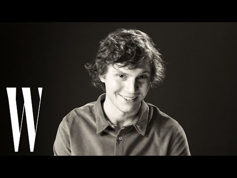 Evan Peters on American Horror Story, Hammer Pants, and The Olsen Twins | Screen Tests | W Magazine