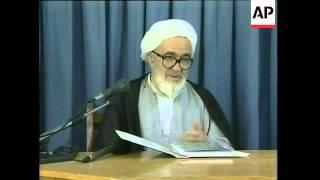 Senior dissident cleric Grand Ayatollah Montazeri reported dead