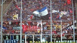 Florentia VIola-Pisa 0-1, scontri,corteo,cori coppa italia 2002