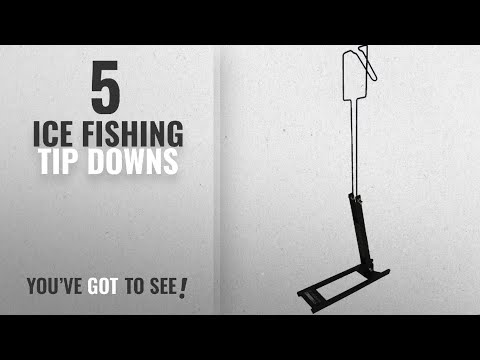 Top 10 Ice Fishing Tip Downs [2018]: HT BTD-50 Ice Master Deluxe 2-in-1 Tip Down System