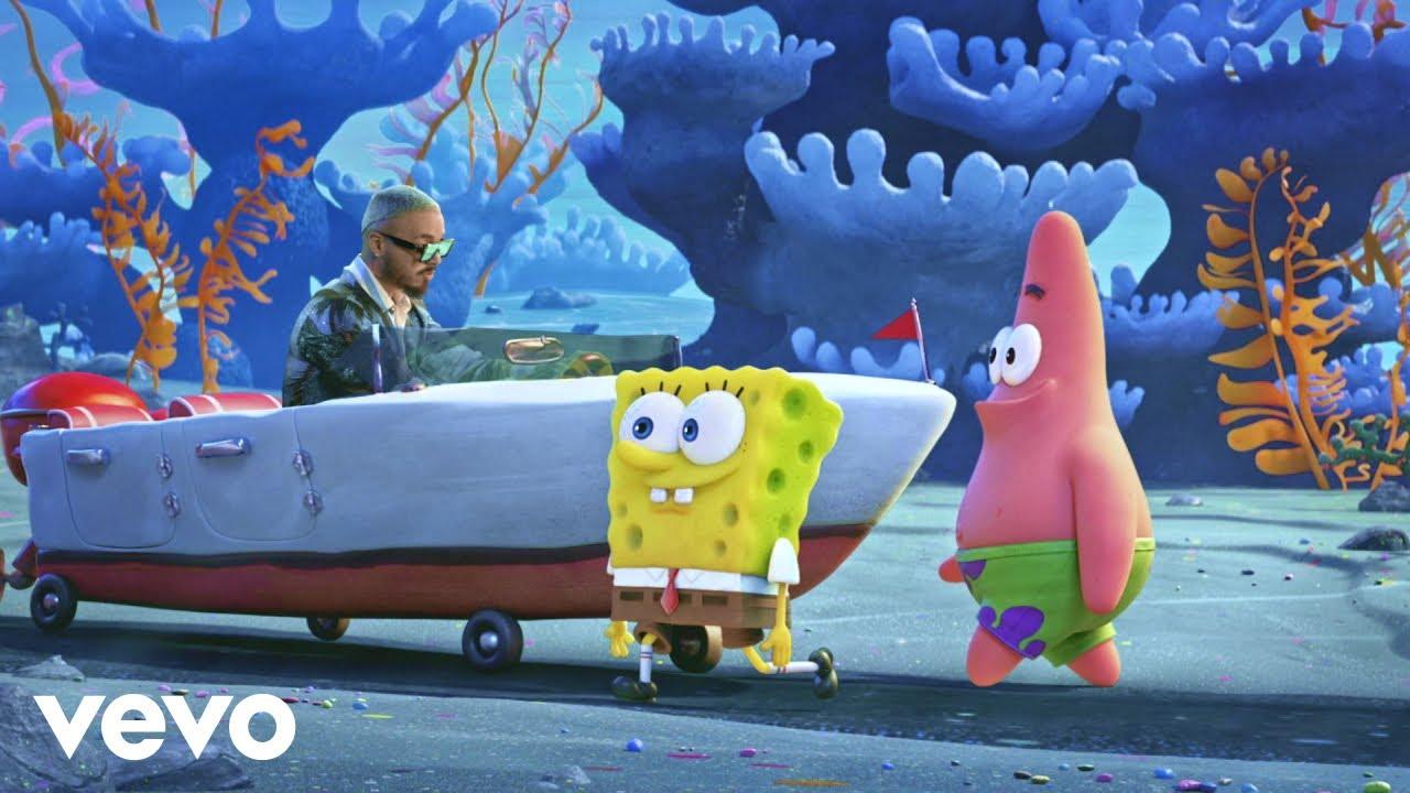 Tainy J Balvin  Agua Music From Sponge On The Run Movie