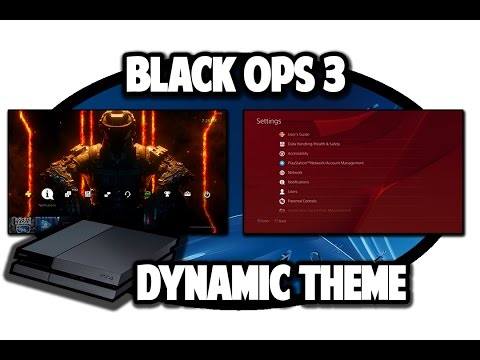 [PS4 THEMES] Black Ops 3 Dynamic Theme Video In 60FPS