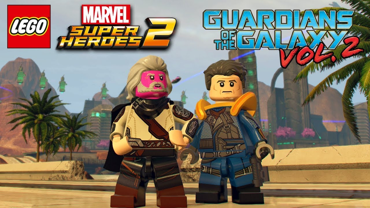lego marvel super heroes 2 all guardians of the galaxy vol 2 level