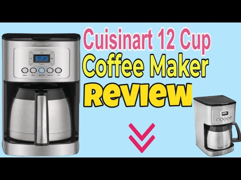 Cuisinart DCC-3400 Stainless Steel Thermal Coffeemaker