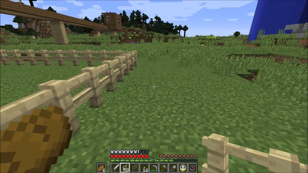 Minecraft 297 Zauntore Youtube