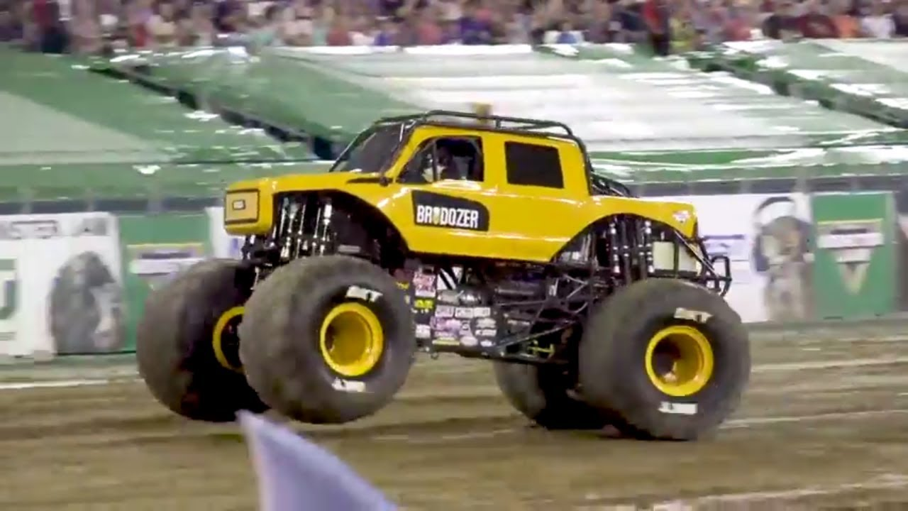 massive machine monster truck