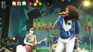 Lady Saw @ Reggae Jam 2014, 01.-03.08. Bersenbrück