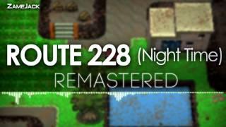 Sinnoh Route 228 (Night): Remastered ► Pokémon Diamond/Pear…