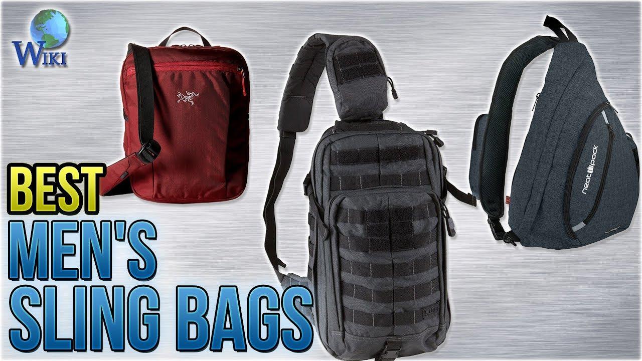 b89ccee3e04 10 Best Men's Sling Bags 2018