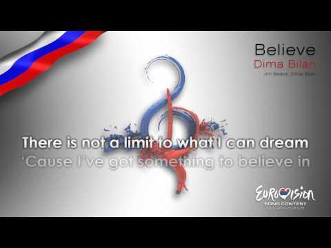 """Dima Bilan - """"Believe"""" (Russia) - [Karaoke version]"""