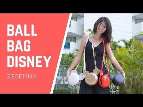 O que achei: Melissa Ball Bag  Disney  Melissa Mapping