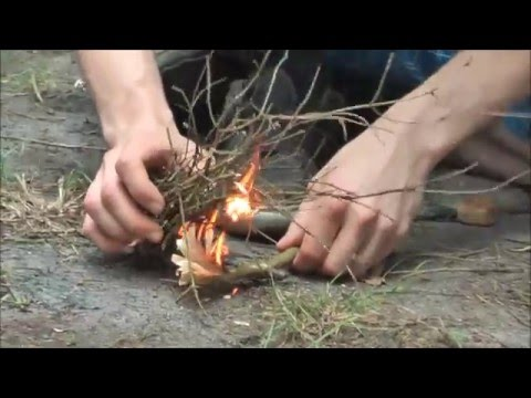 The Best way to start a Fire ? Ultimate Survival Technologies from YouTube · Duration:  2 minutes 13 seconds