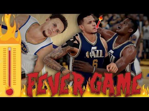 NBA 2K16 MyCAREER - THE FEVER GAME!! BROKE CURRY ANKLES! AMAZING GAME WINNER!?!