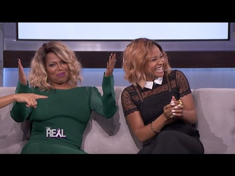 Rhyon Nicole Brown Teaches #TheReal Hosts How to Talk Like Michel'le